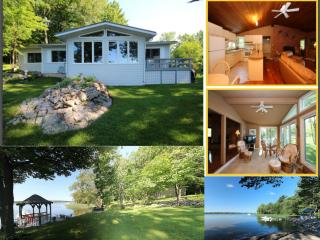 Beautiful Waterfront Home with Beach - Gananoque vacation rentals