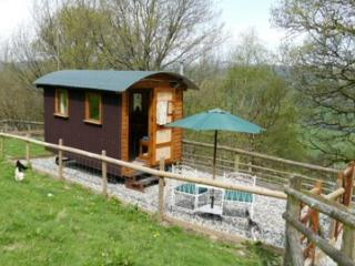 Nice Shepherds hut with Television and Fireplace - Llandderfel vacation rentals