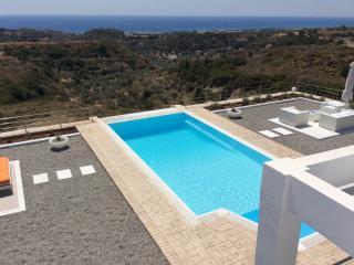 Aspro Villa with infinity pool close to Faliraki - Kalithies vacation rentals