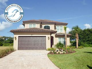Ocean's Crest - 6 Bedroom Luxury Waterfront Home with Fire Pit - Palm Coast vacation rentals