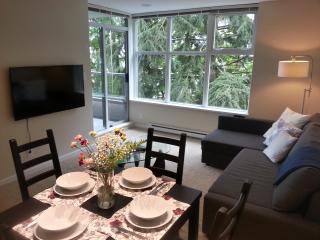 Great View! Modern 2BD condo, gym, quiet, @ SFU - Burnaby vacation rentals