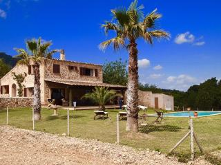 PANORAMIC VILLA ON 40.000qm PLOT,POOL,CLIMATE,WIFI - Porto Colom vacation rentals
