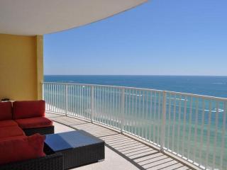 PS BEACHFRONT * TWIN PALMS 2 bed 2 bath ON BEACH!! - Panama City Beach vacation rentals