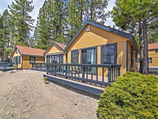 New Listing! Lakefront 1BR Tahoe Vista Cabin w/Wifi, Private Deck & Breathtaking Lake Views - Close to an Abundance of Amazing Outdoor Attractions! - Tahoe Vista vacation rentals