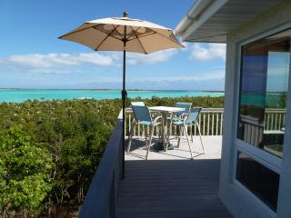 BEACHFRONT HOME w/STUNNING VIEWS  SECLUDED  QUIET - Clarence Town vacation rentals