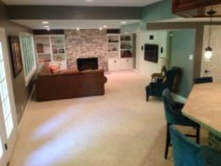 Indy 500 wknd! Entire lower level,1000+square ft - Indianapolis vacation rentals