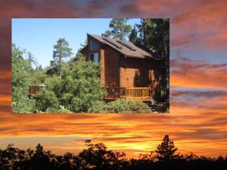Beautiful Sunset Views 2 BDRM 1.5 BA and Playhouse - Idyllwild vacation rentals