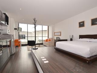 DANI - 1 Bed Designer Studio Apartment with gym & balcony (Santa Barbara) - Bogota vacation rentals