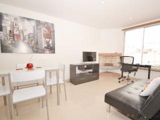 EVA - 2 Bed Executive Apartment with chimney (Zona T) - Bogota vacation rentals