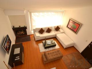 RITA - 2 Bed Renovated Apartment with chimney and views (Cedritos) - Bogota vacation rentals