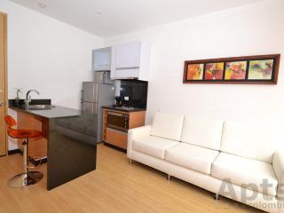 VICKY - 1 Bed Modern Studio Apartment with balcony - Santa Bibiana - Bogota vacation rentals