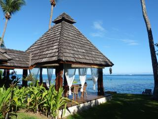 Villa Poerani: a gorgeous 3 bedrooms polynesian villa by the lagoon - Maharepa vacation rentals