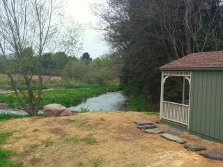 Cabin overlooking Del. River on working Dairy Farm - Bloomville vacation rentals