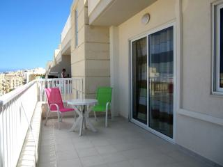 Brand new 2 bedroom apartment with large balcony. - Qawra vacation rentals