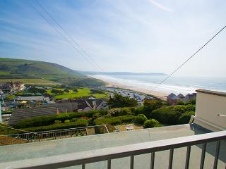 Centre Point in Woolacombe, overlooking the bay - Woolacombe vacation rentals