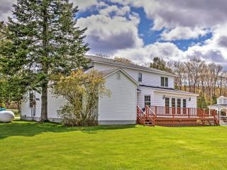 New Listing! Exceptional 5BR Gaylord Country Home w/Colossal Kitchen, Huge Private Deck & Great Location - Stone's Throw Away From Skiing & Golfing at Treetops Resort! - Gaylord vacation rentals