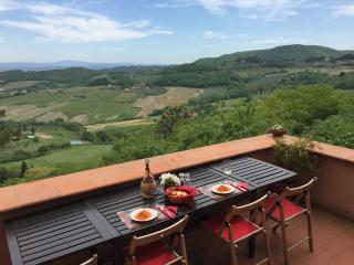 DOWNTOWN WITH A VIEW!Entire Home w. huge Terraces - Montepulciano vacation rentals