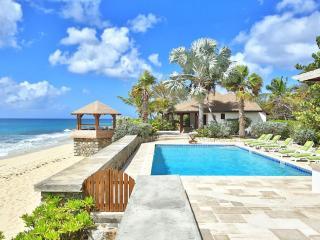 BLUE BEACH VILLA... comfortable villa on a fantastic soft, white sand beach! - Baie Longue vacation rentals