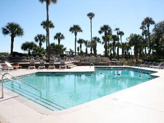 Oceanfront 3 Bedroom End Unit Villa with Spacious Oceanfront Balcony! - Hilton Head vacation rentals