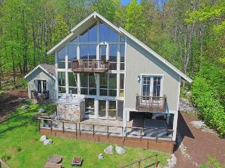 Enjoy panoramic lake views from this unique lake access home! - McHenry vacation rentals