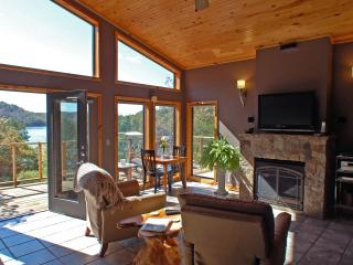 Beaver Lakefront Cabin - Upscale, Secluded Luxury - Eureka Springs vacation rentals