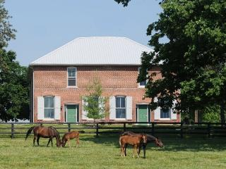 Renovated Train Station on Thoroughbred Horse Farm - Paris vacation rentals