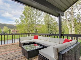 Dog-friendly home with a relaxing outdoor deck and mountain views! - Avon vacation rentals