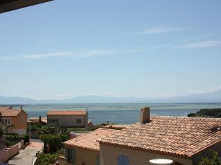Belle villa, grande terrasse vue sur l'étang - Leucate vacation rentals