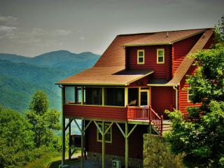 Smoky Mountain Dawn- Mtn. Views, Romantic Master, 2 Fireplaces, Hot Tub... - Bryson City vacation rentals