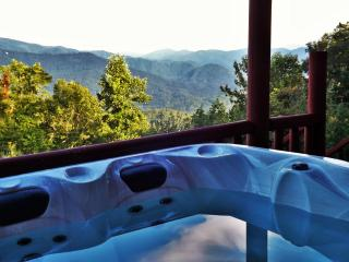 Spectacular Smoky Mtn. Views, Romantic Master Suite, 2 Fireplaces, Hot Tub... - Bryson City vacation rentals