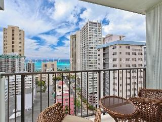JUST RENOVATED!  Ocean View, central AC, 5 min. walk to beach!  Sleeps 4. - Waikiki vacation rentals