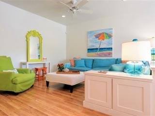 Bayfront ground floor designer condo with boatslip! - South Padre Island vacation rentals