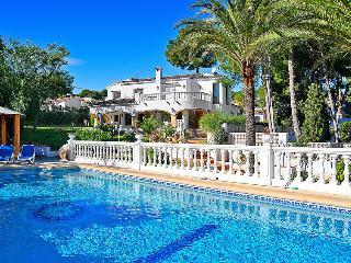 6 bedroom Villa in Moraira, Costa Blanca, Spain : ref 2015867 - La Llobella vacation rentals