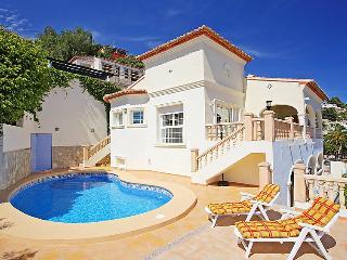4 bedroom Villa in Moraira, Costa Blanca, Spain : ref 2027569 - La Llobella vacation rentals