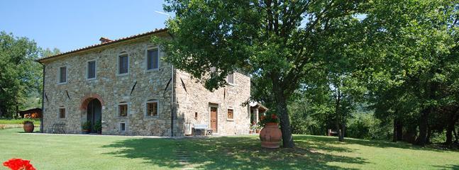 4 bedroom Villa in Castel Focognano, Arezzo Area, Tuscany, Italy : ref 2230457 - Image 1 - Castel Focognano - rentals