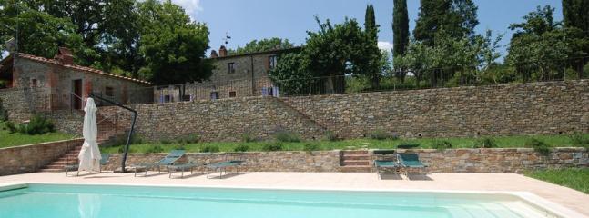 6 bedroom Villa in Castel Focognano, Arezzo Area, Tuscany, Italy : ref 2230459 - Image 1 - Castel Focognano - rentals
