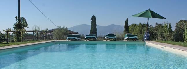 6 bedroom Villa in S. Pancrazio, Lucca Area, Tuscany, Italy : ref 2230559 - Image 1 - Bargino - rentals