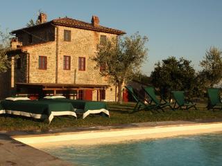 Villa in S. Pancrazio, Lucca Area, Tuscany, Italy - Bargino vacation rentals