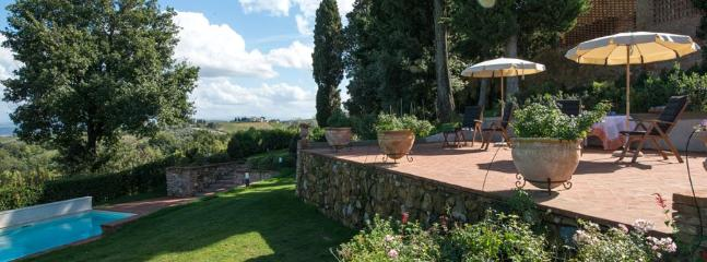 4 bedroom Villa in Montaione, Firenze Area, Tuscany, Italy : ref 2230601 - Image 1 - Montaione - rentals