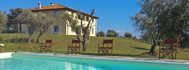 6 bedroom Villa in Il Terriccio, Costa Toscana, Tuscany, Italy : ref 2230611 - Image 1 - Collemezzano - rentals