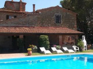 Villa in Campogialli, Tuscany, Italy - San Giustino Valdamo vacation rentals
