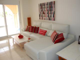 Contemporary new modern apartment pool views - Los Alcazares vacation rentals