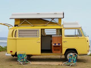 Romantic 1 bedroom Haleiwa Camper van with Housekeeping Included - Haleiwa vacation rentals