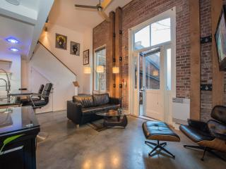 Modern old town loft with huge private patio - Victoria vacation rentals