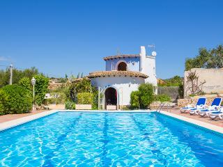 7 bedroom Villa in Calpe, Costa Blanca, Spain : ref 2031767 - La Llobella vacation rentals