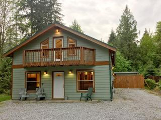 59MBR Pet Friendly Cabin with a Private Hot Tub - Glacier vacation rentals