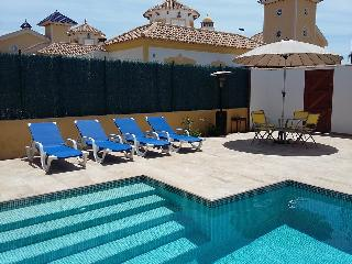 Casa Alegria, 2 beds, private pool, 3 airco's, wifi - Mazarron vacation rentals