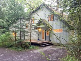 19MBR Deluxe Riverside Cabin with a Hot Tub and WiFi - Glacier vacation rentals