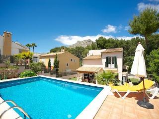 4 bedroom Villa in Cala San Vicente, Mallorca : ref 2096978 - Cala San Vincente vacation rentals