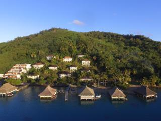 Bora Bora Luxury Lagoon View Mountainside Bungalow - Faanui vacation rentals